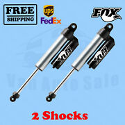 Fox Shocks Kit 2 4.5-5.5 Lift Rear For Ford F450 - Cab Chassis/utility 08-16