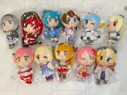 Hololive X Tsukumo Collaboration Collab Set Of 11 Plush Doll Toy Japan Limited