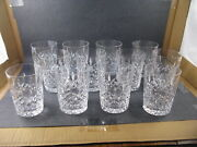 Waterford Lismore Double Old Fashioned 12 Oz. Set Of 12