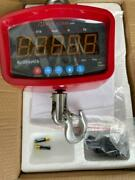 Mnm Scales 3000 Lb Professional Hanging Portable Lcd Crane Scale New