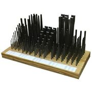 Wilde K345.np/db 135-piece Punch And Chisel Display Board - 45 Skus   3 Each