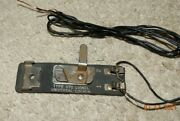 Lionel Utc Lockon Track Terminal For Standard And 0 Gauge Track W/wiring - Tested