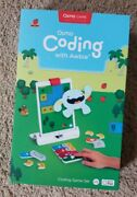 Osmo Coding Starter Kit For Ipad - Ages 5-12 - Coding, Steam - No Scratches