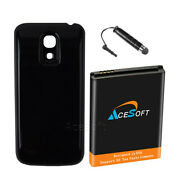 Acesoft For Samsung Galaxy S4 Mini I9190l Extended Battery Desktop Charger Cover