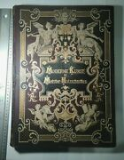 Large Lavish Antique Book With Wood Cut Prints Of Contemporary Art Work