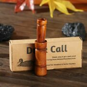Whistle Realistic Sound Duck Commander Wooden Whistle Hunting Duck Calls Lures