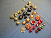 Rhinestone/pearl Embedded Antique/ Vintage Dressy Buttons