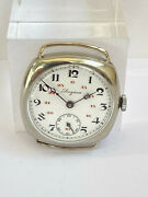 Vintage All Original Longines Military Wwi Trench Swiss Watch Cal.13.34 2