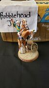 Roy Rogers And Horse Trigger Bobblehead Statue Figure Rodeo Cowboy Singer No Box