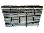 Motorsport Race Car Euro Container Box Flight Case Roll Cabinet Hospitality Unit