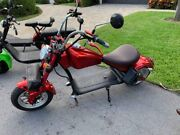 Electric Motorcycle - Way Better Then A Golf Cart