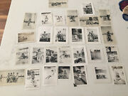 Lot Of 28 Vintage C1940s Bandw Boardwalk Swimsuits Pinup Beach Photos