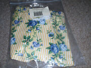 Longaberger Liner For The Large Gathering Basket In The Rose Trellis Fabric. New