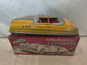 Rare Vintage Marx Mechanical Roadster Convertible. With Original Box Wow Nice.