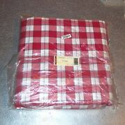 Longaberger Picnic Plaid Fabric 5-yards Yds Made In Usa Brand New In Bag