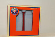 Lionel 37151 Classic Street Lamps Red