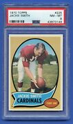 1970 Jackie Smith Psa 8 Nm-mt Topps Hall Of Fame St. Louis Cardinals 225 Rzc
