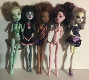 Monster High Ever After High Doll And Clothes Lot For Ooak Or Parts