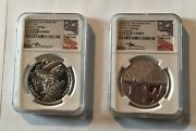 2020 P Womenandrsquos Dollar And Medal Set Ngc 70 Uc Fr Mercanti Signed