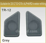 For Toyota Alphard 2012 Car Tweeters Speakers Cover Panel Installation Trim Kit