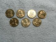 Sacagawea Dollar 2005 D - 2013 P 7 Coin Uncirculated Set Different Coins