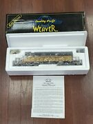 New Weaver Gold Edition Union Pacific Sd-40-2 Diesel Locomotive 3-rail Up 3532