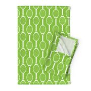 Tennis Outdoor Sports Summer Modern Linen Cotton Tea Towels By Roostery Set Of 2