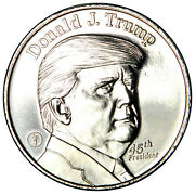 2020 Money Metals Exchange Donald Trump .999 Pure Silver Priced Right