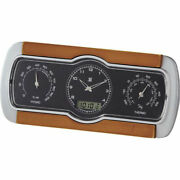 Temperature And Humidity Radio Clock C-8271 60 Points Non-work On Behalf Of