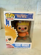 Funko Pop Heat Miser 02 The Year Without A Santa Claus Pop Holidays Vinyl