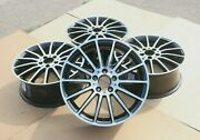 Set Of 4 Genuine Oem Mercedes A-class And Cla W176 18 Amg Alloy Wheel Rims