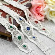 Morocco Caftan Metal Belt For Womenand039s Wedding Dress Gold Silver Color Jewelry