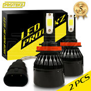 Led Headlight Bulbs Kit Cree 9006 Hb4 For 2003-2006 Ford Expedition Low Beam 6k