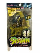 Signed Malebolgia Spawn Action Figure Certificate Authenticity Todd Mcfarlane