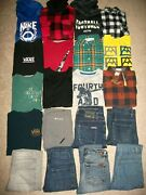 Guc Lot Of 20 Boys Size 8 10 Fall Winter Name Brand Nike Tcp Old Navy 761