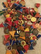 Dealers And Collectors Lot Of 100 Hungarian Military Medals
