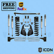 2017-2018 Ford F250/f350 Super Duty 4wd 4.5 Lift Kit - Stage 1 Icon