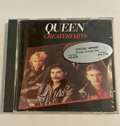 Queen Greatest Hits 1992 Emi Uk Import Cd Hard To Find Rare Import