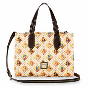 New Disney Dooney And Bourke Lady And The Tramp Dogs Satchel Bag Purse