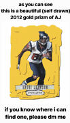 In Search Of 2012 Gold Prizm Andre Johnson /10 I Do Not Own This Card.