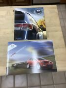 One Lot Of Two 2 Mazda Cx-series Brochures