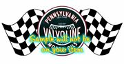 Valvoline And039fand039 Contour Cut Vinyl Decals Sign Stickers Motor Oil Gas Globes