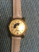 Womens Gitano Moon Dial And Date Watch