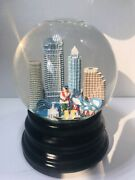 Tampa Saks Fifth Avenue Snow Globe Musical Way Down Upon The Suwannee River 1n