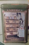 Rare Vintage 1997 Uneeda Bakers Biscuit Tin National Biscuit Company Nabisco A32