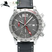 Longines Admiral Chronograph Gmt L3.670.4.79.0 Automatic Winding Cal.l686.2