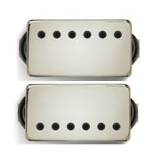 Bare Knuckle Cold Sweat 6-string Guitar Pickup Set, Nickel Covers W/ Black Bolts