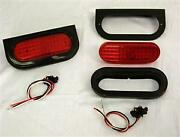 2 6 Red Stop Tail Turn Boat Light Kits 56 Diodes