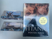 James Cameron's Titanic Poster Book By Joseph Montebello And Two Film Gels