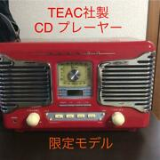 Made By Teac Coca Cola Retrocd Player Are
